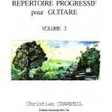 Répertoire Progressif pour Guitare Vol 3
