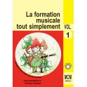 CD volume 1 La Formation Musicale
