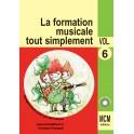 CD volume 6 La Formation Musicale